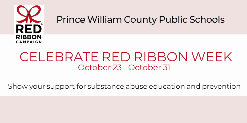 Red Ribbon Week Oct 23-Oct 31